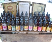 1oz Tincture/Elixir of Your Choice -  Dandelion, Red Clover, Ginger, Goldenrod, Gotu Kola, Lobelia, Reishi, Spilanthes, Vitex, & more.