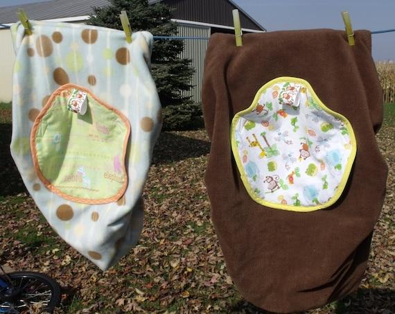sale gender neutral infant car seat carrier cover fleece and. Black Bedroom Furniture Sets. Home Design Ideas
