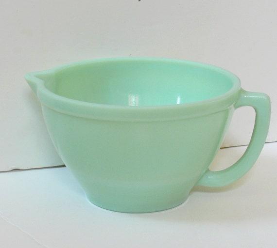 Vintage Jadite Batter Mixing Bowl