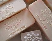 Sandalwood and shea butter handmade soap