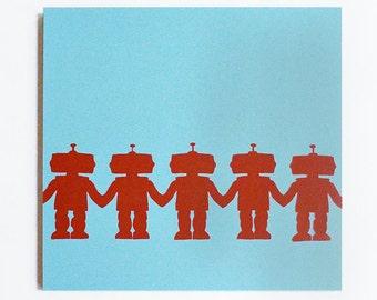 Paper Doll Robots - BoyBots