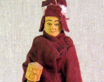 Vintage Hand Made Nepal Doll 1960's