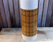 Vintage Aladdin Best Buy Plaid Thermos Large Size Mid Centiry Retro Vintage Lunch