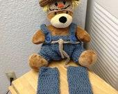 Scarecrow diaper cover set