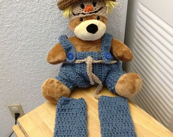Scarecrow diaper cover set