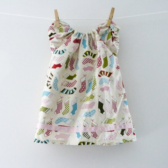 SALE - Girls Christmas Dress - 6-12 Months - Ready to Post