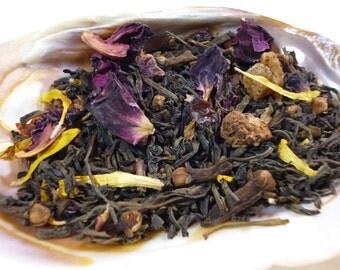 1 oz - Ghost in the Machine Tea - black tea - raspberry and rose