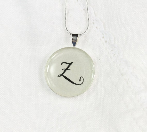 Initial Necklace - Unique Personalized Jewelry, Custom Initial Pendant, Handwritten Necklace, Everyday Jewelry, Birthday Gift for Her