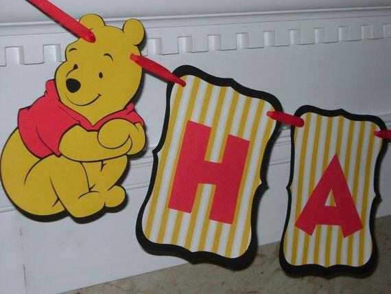 Items Similar To Winnie The Pooh Bear Disney Happy