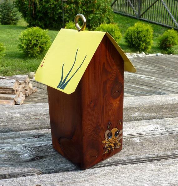 Reserved for JM - Custom - Mason Bee House