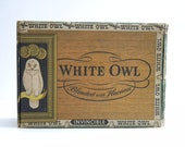 White Owl  Vintage Cigar Box
