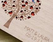 Rustic Wedding Guest Book Wedding Guestbook Custom Guest Book Personalized Customized Custom Wedding Gift Keepsake Rustic Guestbook
