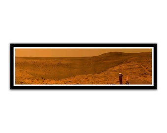 Hubble Universe Mars Rover West Valley Panoramic Photo on 16.5x5.25 PopMount Ready to Hang FREE SHIPPING