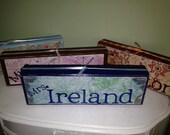 Personalized Custom wood name block, teacher gift, baby shower gift, birthday gift, grandma, grandpa