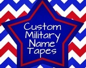 Custom Military Name Tapes