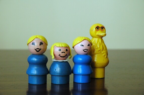 Four Fisher Price Little People Blondes Have More Fun