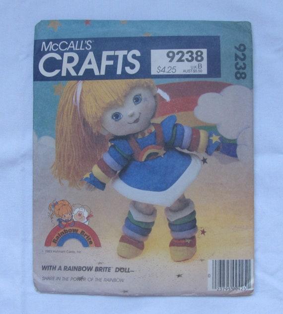 Rainbow Brite Doll Pattern
