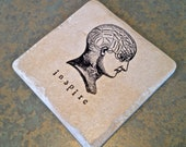 Inspire Phrenology Coaster - Great Teacher or Co-Worker Gift