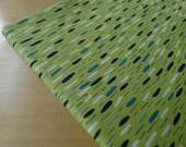 Velocity - Jessica Hogarth - Raindrops Green - Half Yard - Modern Quilting Sewing Craft Cotton Fabric
