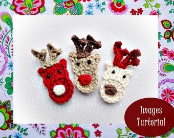 Reindeer Crochet Pattern N