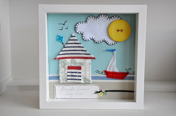 Custom nautical art - personalised - SOLD, but similar available