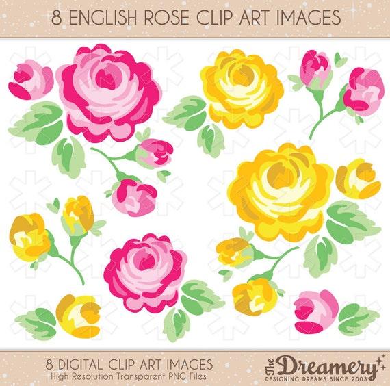 clipart english rose - photo #11