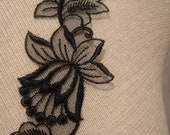 Black Lace trim, DIY Accessories (0.5-325)