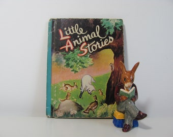 Little Animal Stories Illustrated by Philip B. Parsons Vintage 1942 Little Color Classics Book
