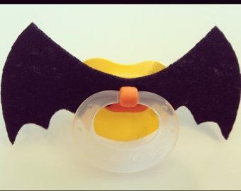 Mustache Pacifier - BATSTACHE Batman Pacifier