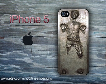 Star Wars Han Solo Frozen in Carbonite iPhone 5 case