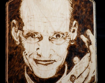 John Waters Portrait Plaque