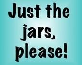 PDF Pattern Bundle, Just the Jars canning jar carrier patterns, Instant Download