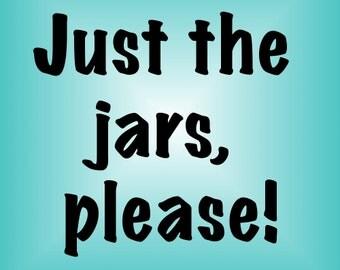 PDF Pattern Bundle - Just the Jars canning jar carrier patterns - Instant Download
