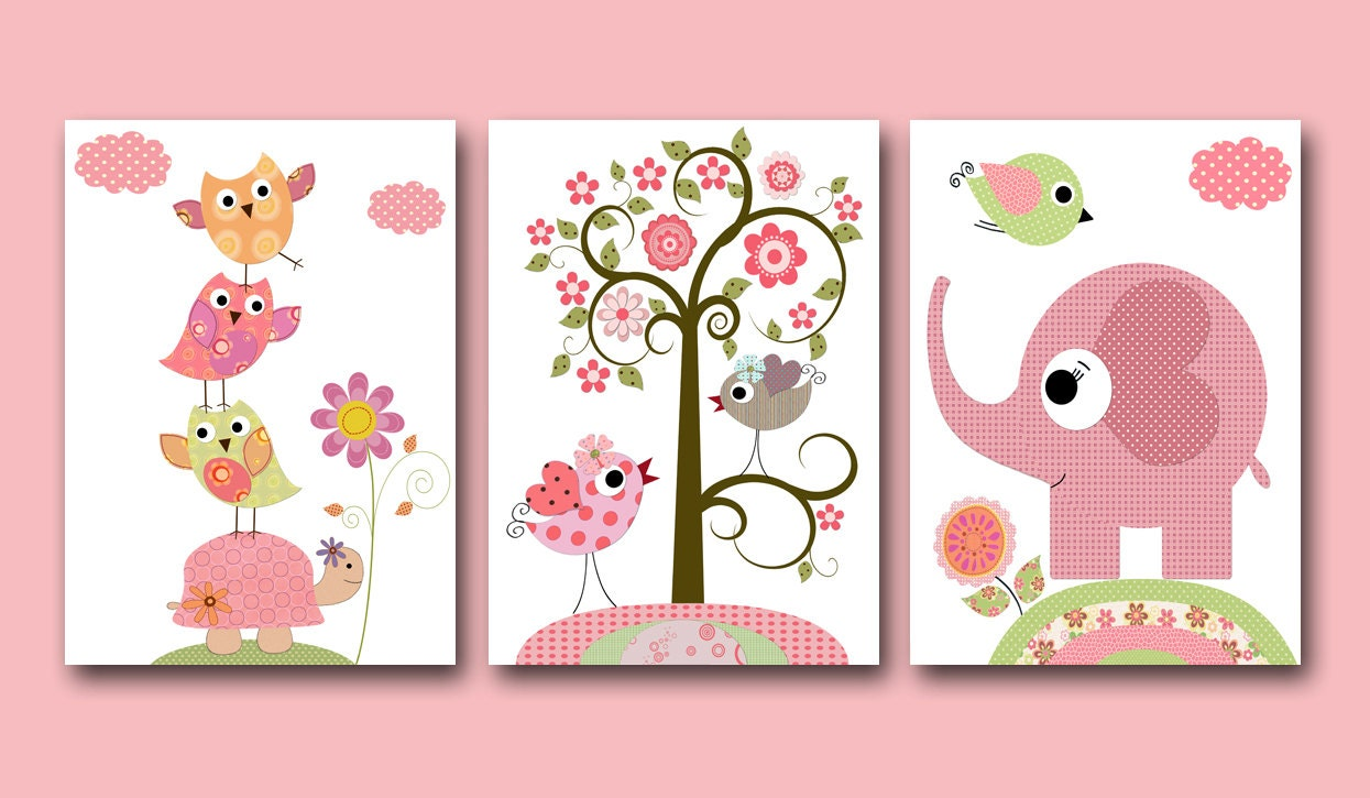 kids wall art baby girl nursery baby girl room decor nursery