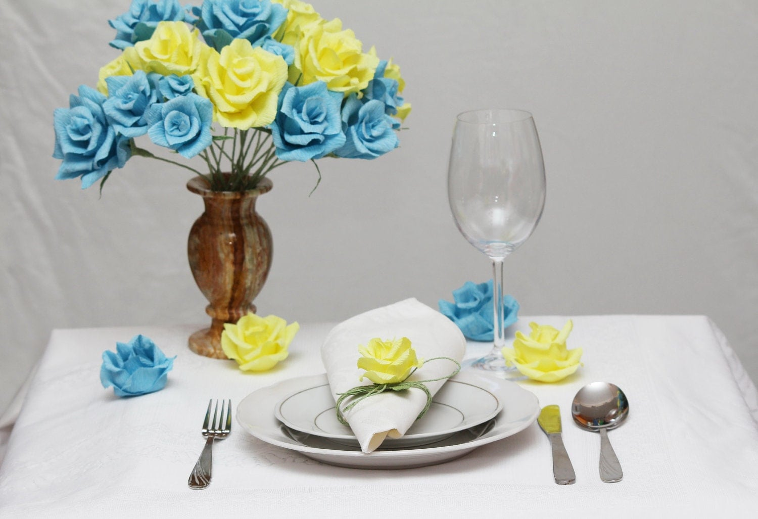 Turquoise And Yellow Wedding Ideas: Items Similar To Turquoise Wedding, Blue And Yellow