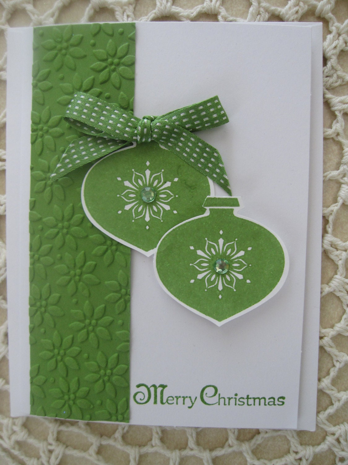 Stampin 39 up handmade greeting card christmas for Handmade christmas cards