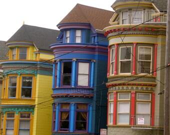 San Francisco COOL, Colorful Bay windows PHOTOgaphy