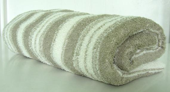 Linen towel with stripes Linen bath sheet Sauna linen towel Bath linen towel Rough linen towel Eco friendly
