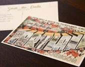 Vintage Postcard Save the Date (Portland Oregon) DIY PDF PRINT