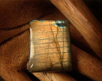 CHOOSE YOUR SHAPE Blue Flash Labradorite Pendant Focal Bead -- rectangle, square