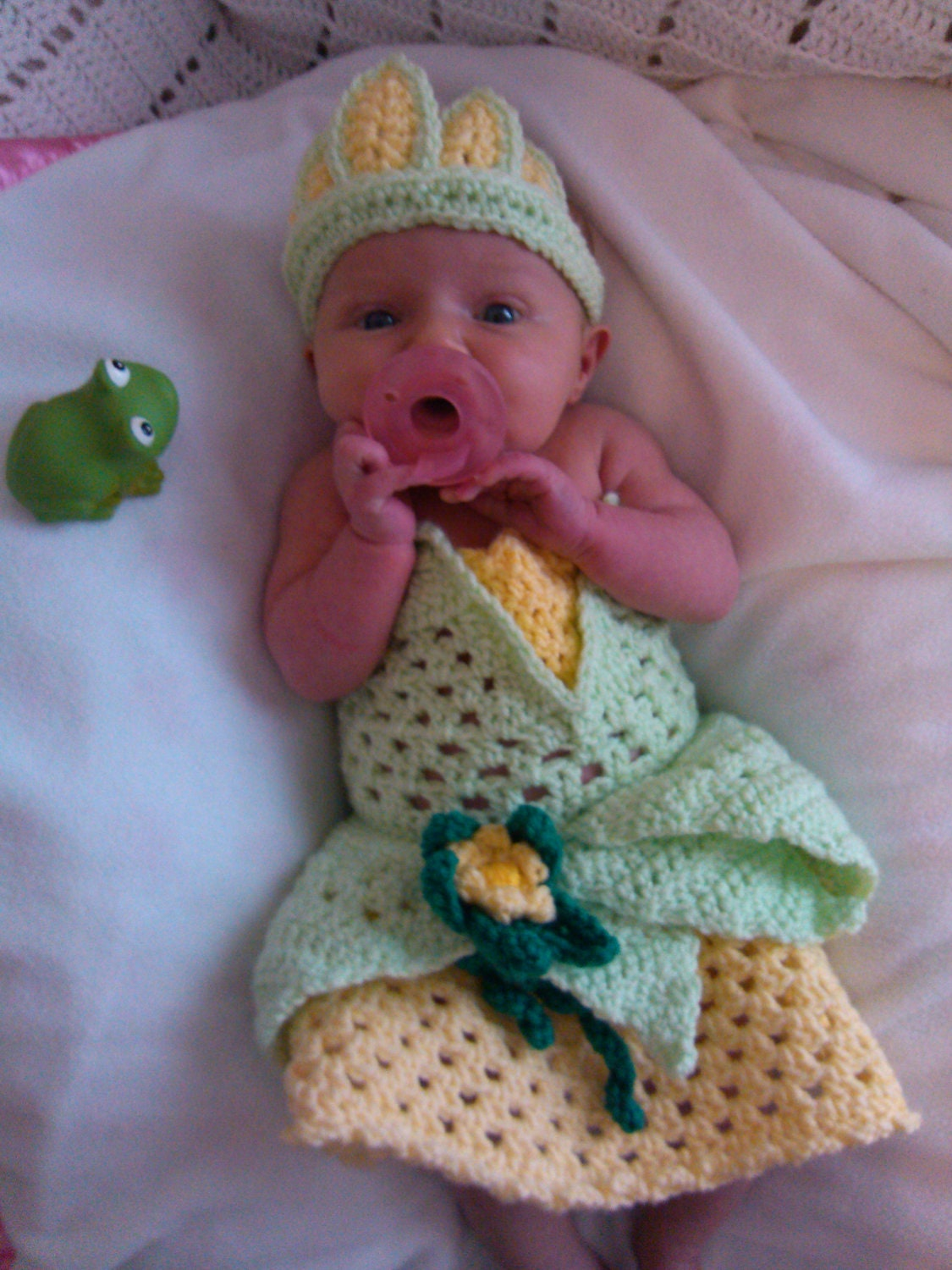 crochet Disneys Tiana from Princess and the