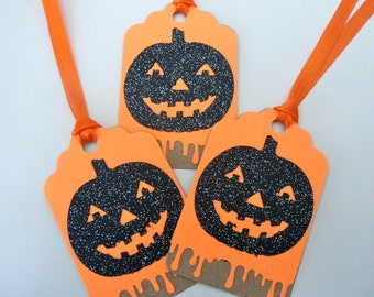 HALLOWEEN PumpkinTAGS. Ready to ship