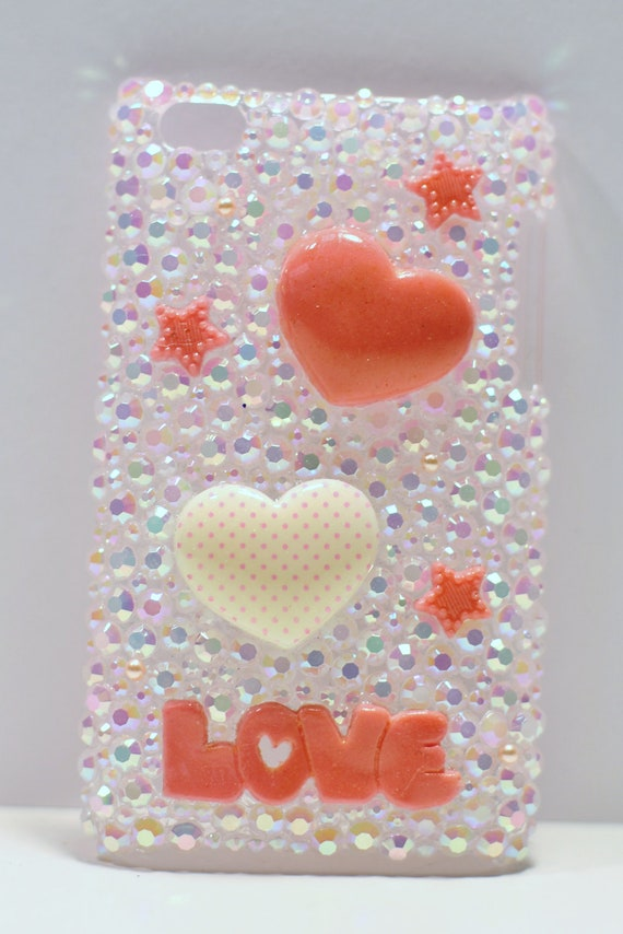 Apple iPod Touch 4G, 4th Generation, 4th Gen - Bling Case