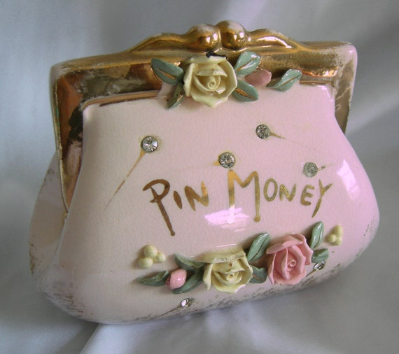 gl vase with rhinestones with Rhinestone Studded Pin Money Ceramic on Blue marble likewise Black amethyst glass moreover M536718131 furthermore Rhinestone Studded Pin Money Ceramic also Avon Perfume Heres My Heart Cream Sachet.