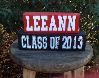 Personalized Graduation Block Set