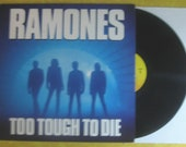 The Ramones Too Tough To Die Punk rock LP Record