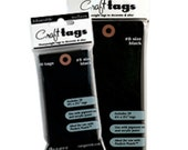 """Inkssentials Surfaces Craft Tag BLACK Size10 by Ranger  4.125"""" x 8.5"""""""