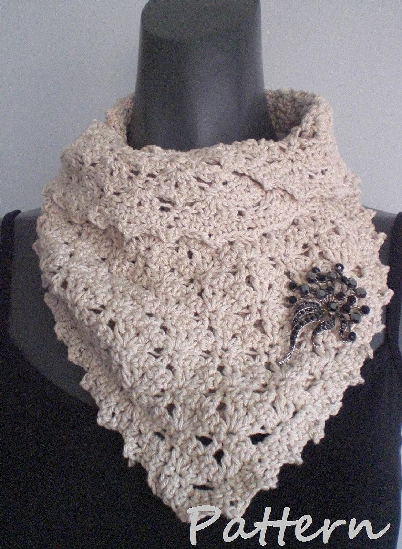 Crochet Cowl Pattern. PDF 026.