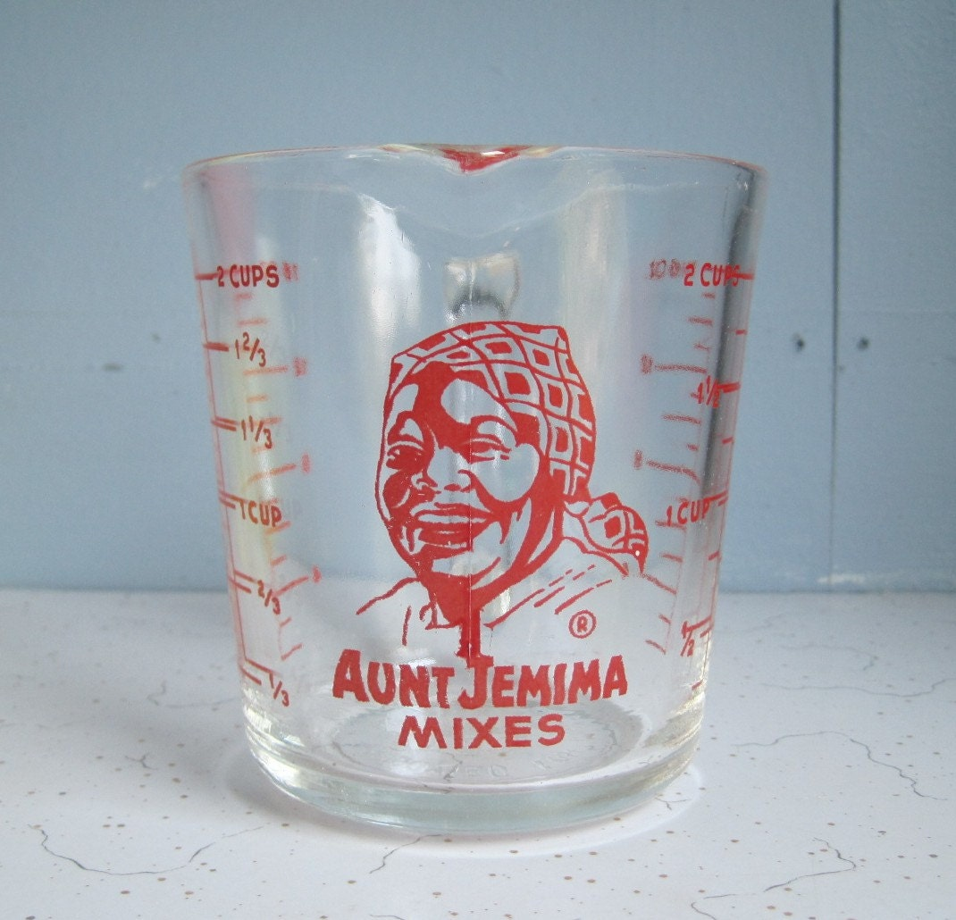 Vintage Fire King Aunt Jemima Measuring Cup