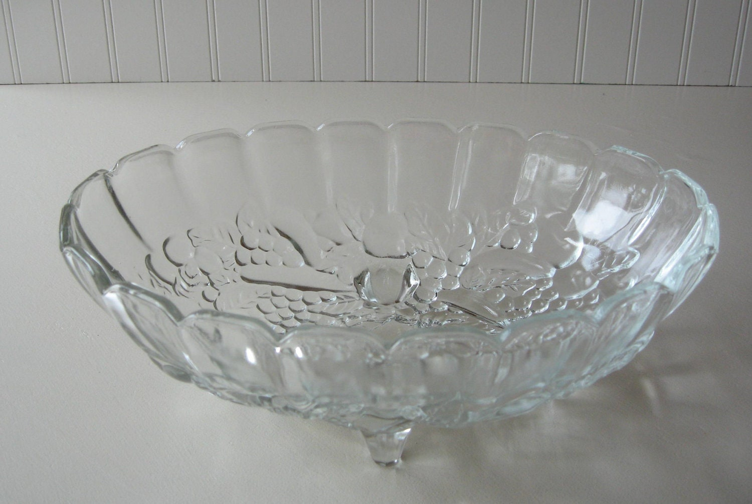 Glass bowl indiana large fruit by